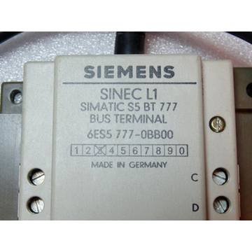 Siemens 6ES5777-0BB00 Bus