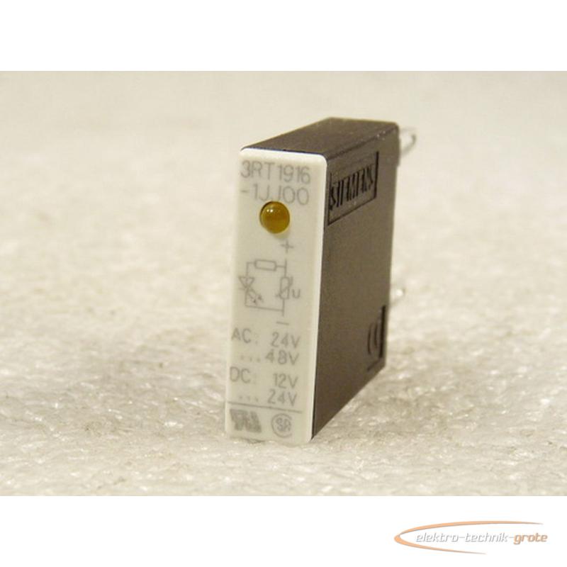 Siemens 3RT1916-1JJ00-ZX90 Ueberspannungsbegrenzer AC 24V DC 12 V ungebraucht