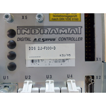 Indramat DDS02.1-F100-D Controller