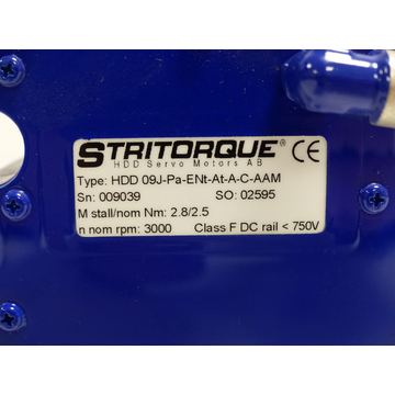 Stritorque HDD 09J - Pa-Ent-At-A-C-AAM SN:009039 > ungebraucht! <