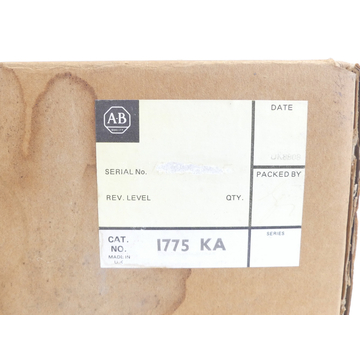 Allen Bradley 1775-KA Communication Adaptor SN:145740-11 - ungebraucht! -
