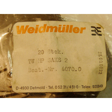 Weidmüller TW HP SAKS VPE 20St